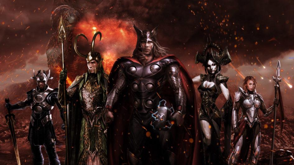 Новые материалы к блокбастерам MARVEL «Тор: Рагнарёк» и «Чёрная Пантера»