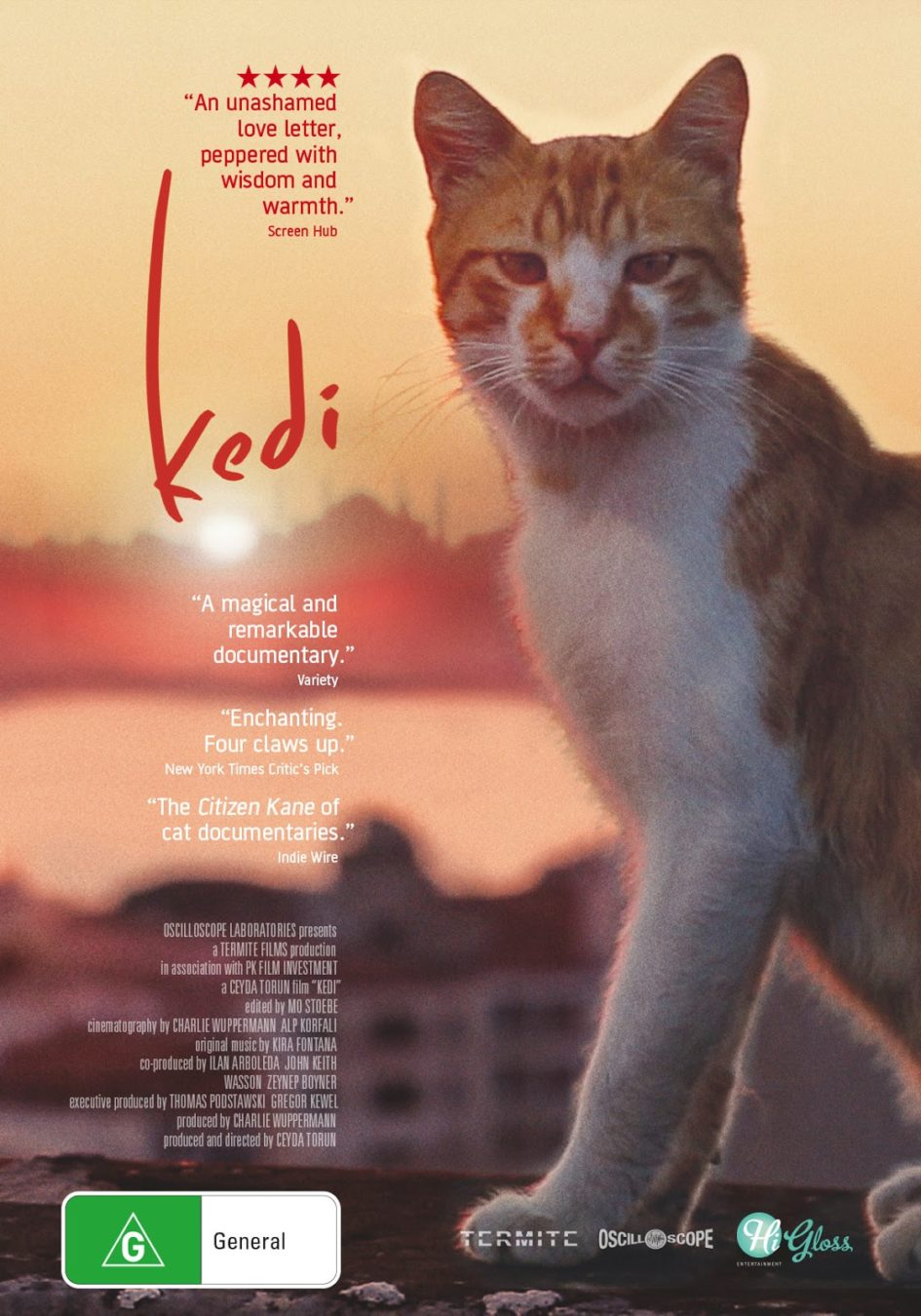 Город кошек (2016) - OST