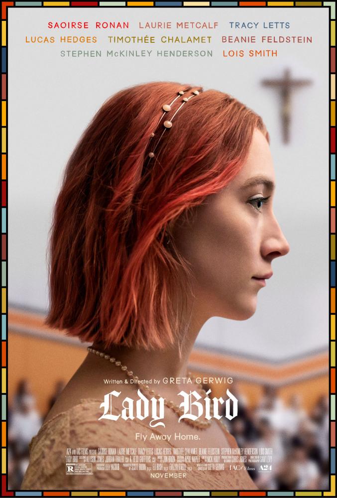 Саундтрек «Леди Бёрд» (Lady Bird, 2017)