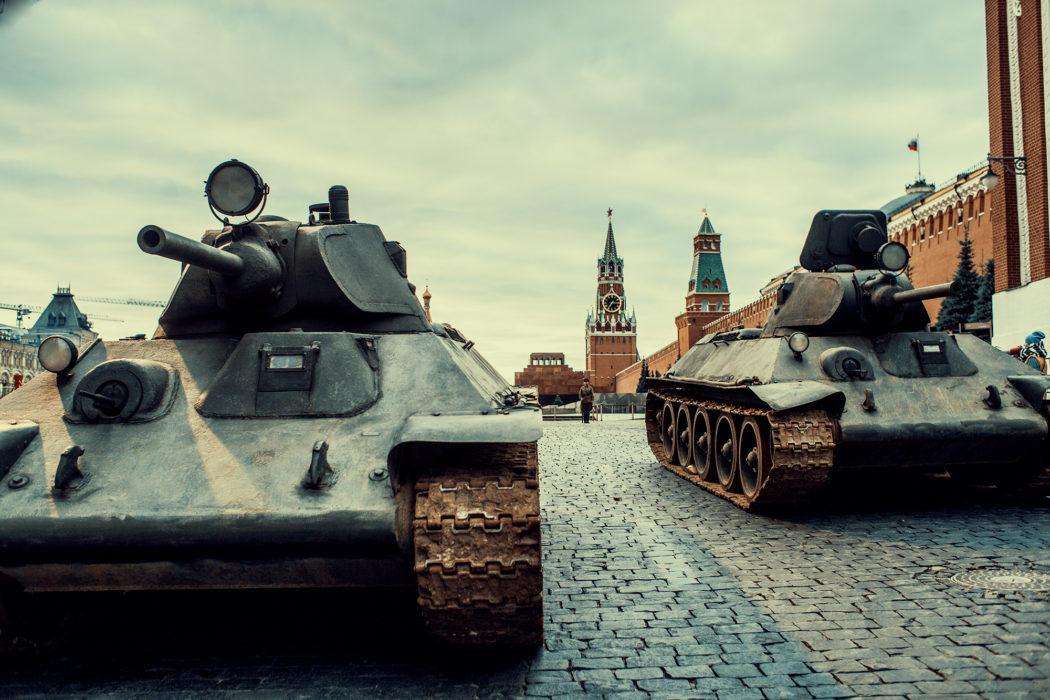Т-34 на Красной Площади