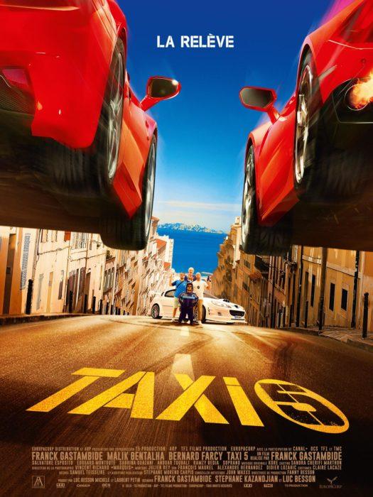 Такси 5 (2018) — OST