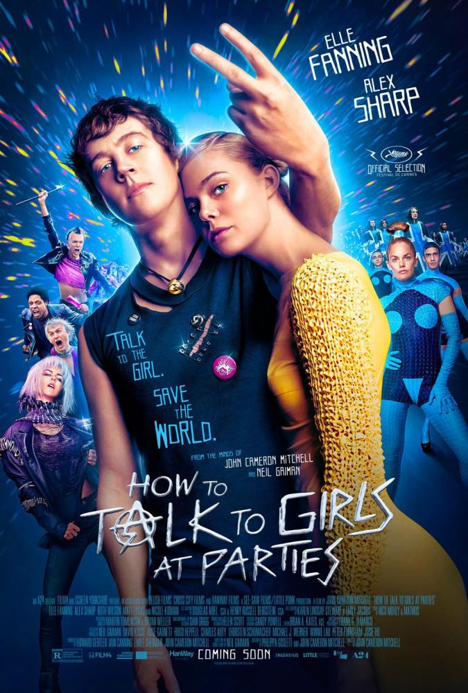 Как разговаривать с девушками на вечеринках (2017) - саундтрек
