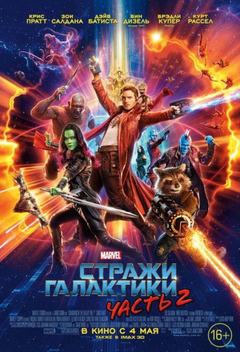 Стражи Галактики 2 (2017) — OST