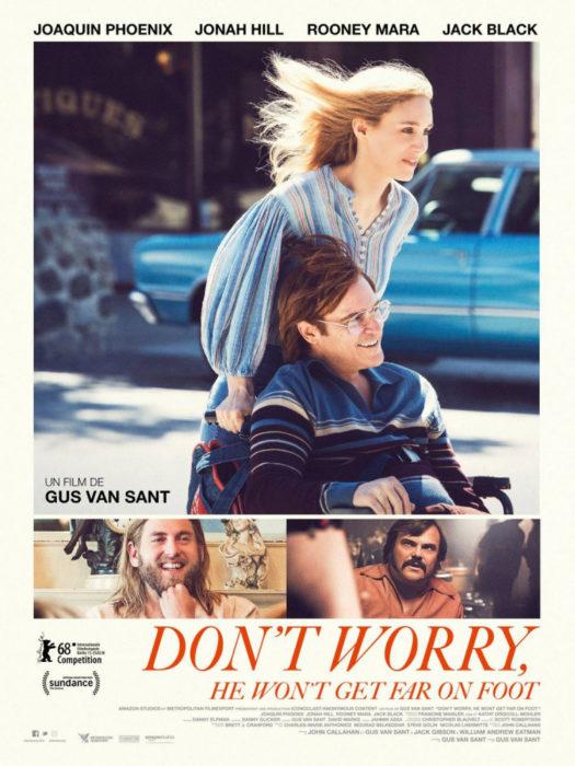 Не волнуйся, он далеко не уйдёт (2018) — OST