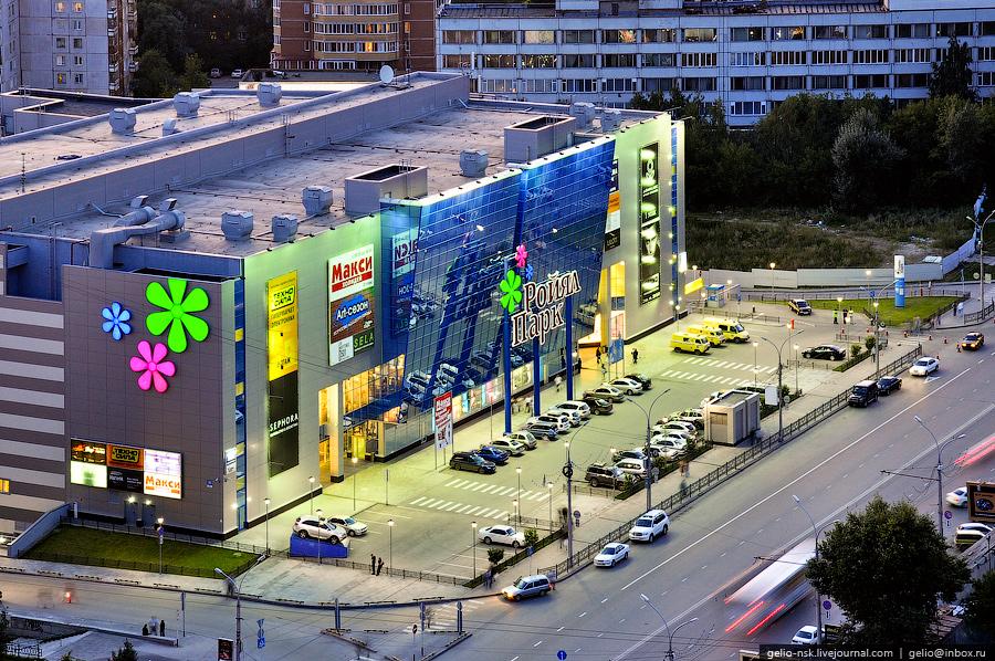 Развлекательный комплекс с IMAX кинотеатром «Ройял Парк» в Новосибирске