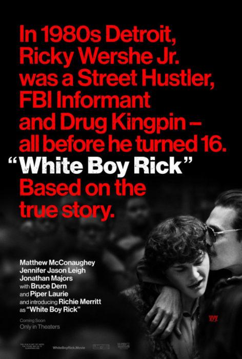 Белый парень Рик (2018) — OST