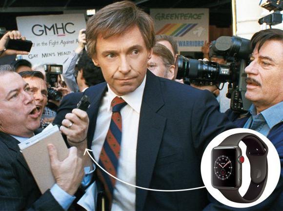 Первый опубликованный кадр из фильма «Главный кандидат» после коррекции в Photoshop