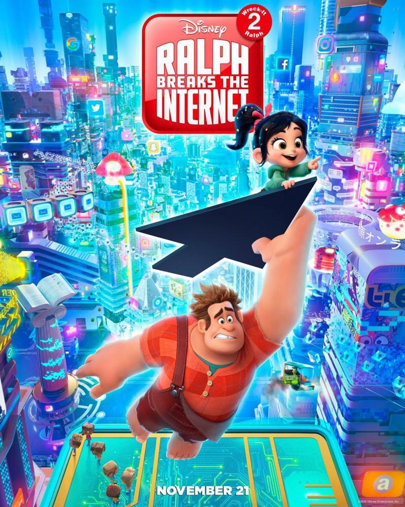 Ральф против интернета (2018) — OST