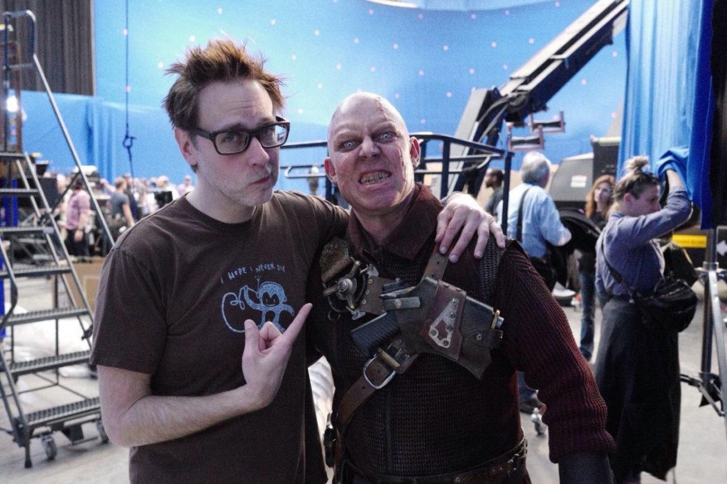 Джеймс Ганн на съемках фильма «Стражи Галактики. Часть 2»