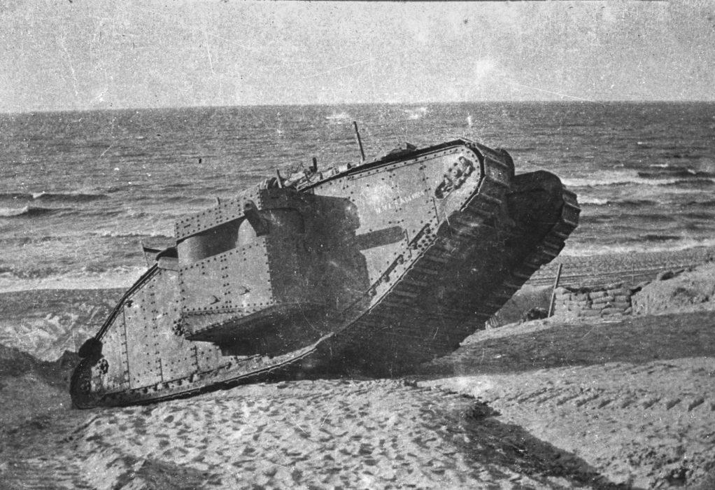Танк Mark I (фотография из открытых источников)