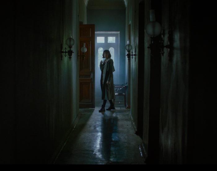 Представлен отрывок из российского фильма ужасов «Гости»