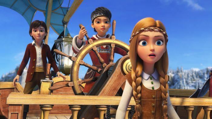 Ляйсан Утяшева озвучила пирата из новой «Снежной королевы»