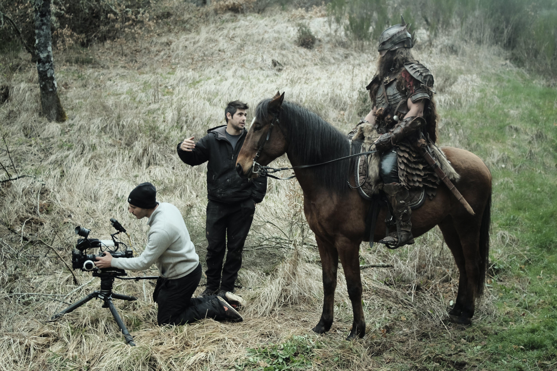 Фотография со съемок фильма «Время монстров»