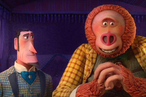 Кадр из мультфильма «Потерянное звено»