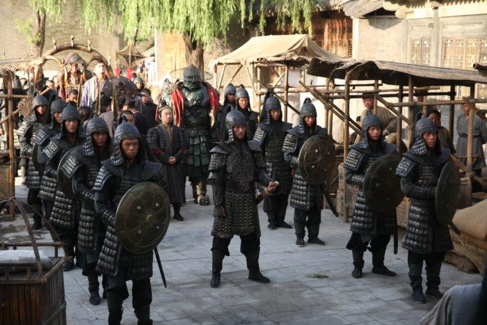 Опубликованы фотографии со съёмок российского фильма «Тайна печати дракона»