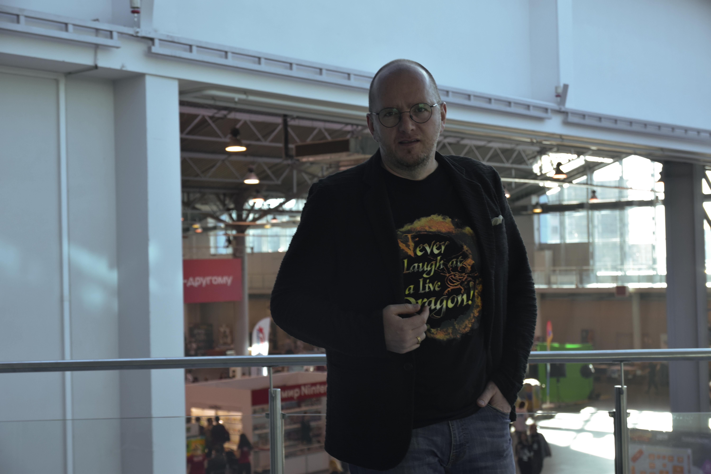 Алексей А. Петрухин (фотография от 18.05.2019, «Кино-Панк»)