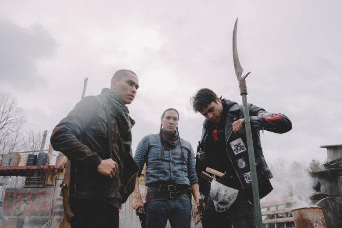 Опубликован первый кадр из фильма ужасов про войну зомби с индейцами — Blood Quantum