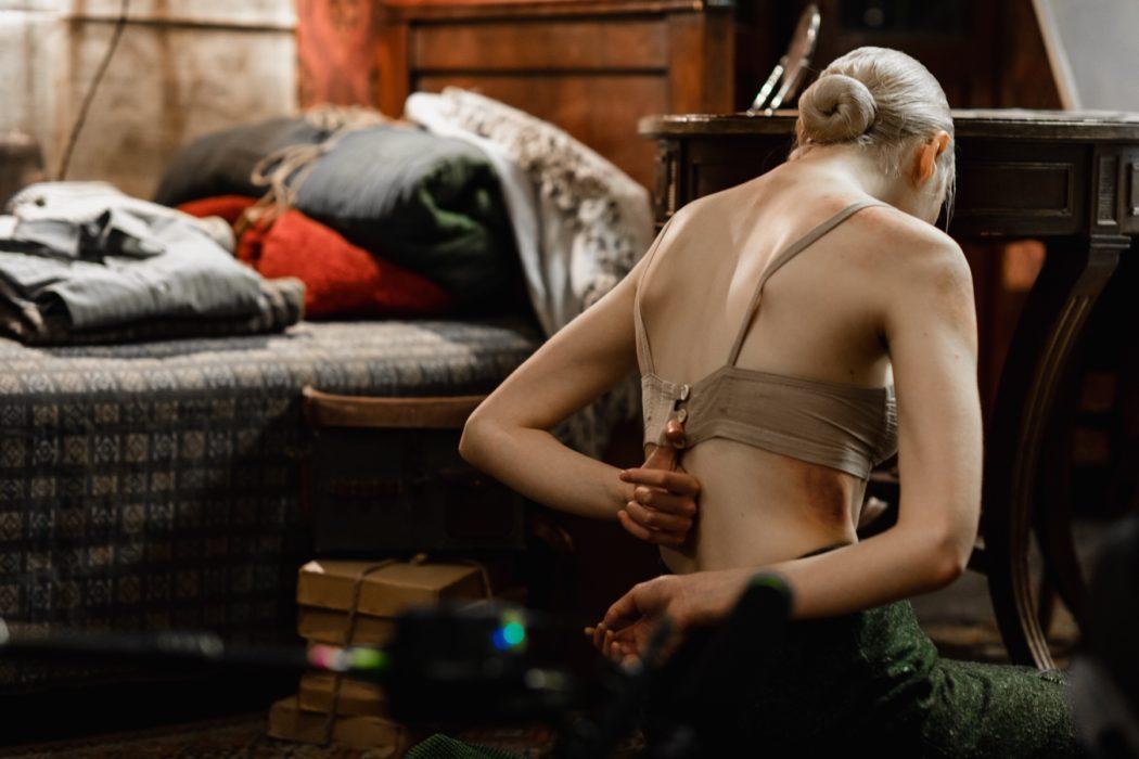 Кадр из фильма «Дылда»