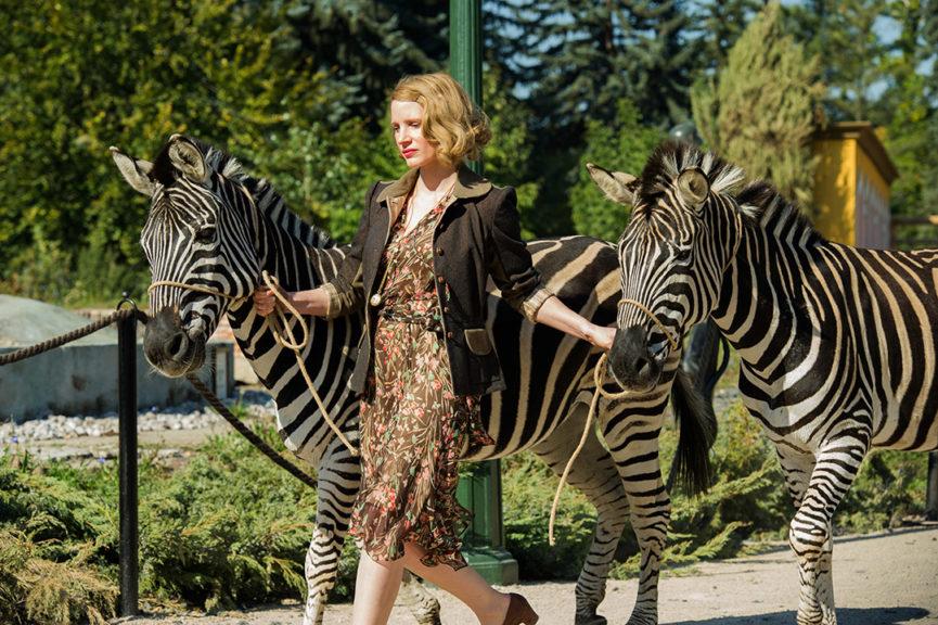 Жена смотрителя зоопарка