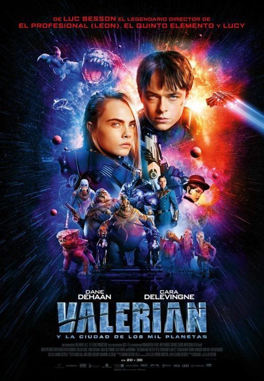 Валериан и город тысячи планет (2017) - OST
