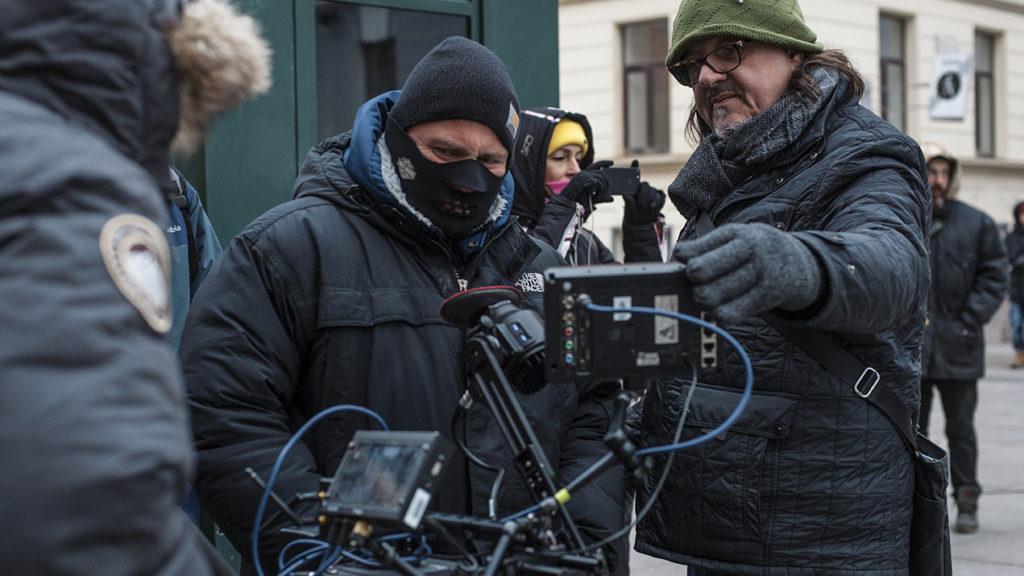 Энди Морахан снял клип к саундтреку фильма «Рубеж»