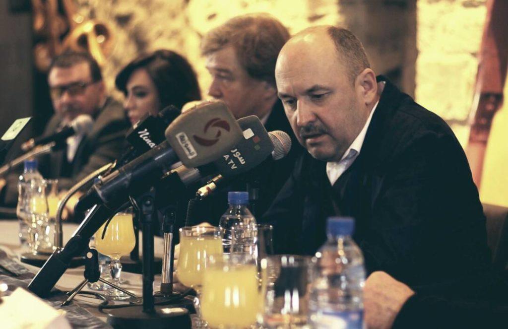 Русские кинематографисты в Сирии