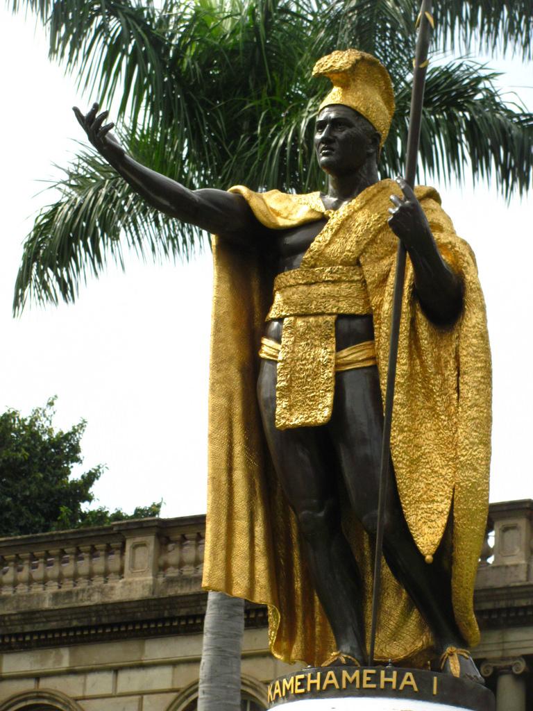 Статуя Камеамеа I на Гавайях