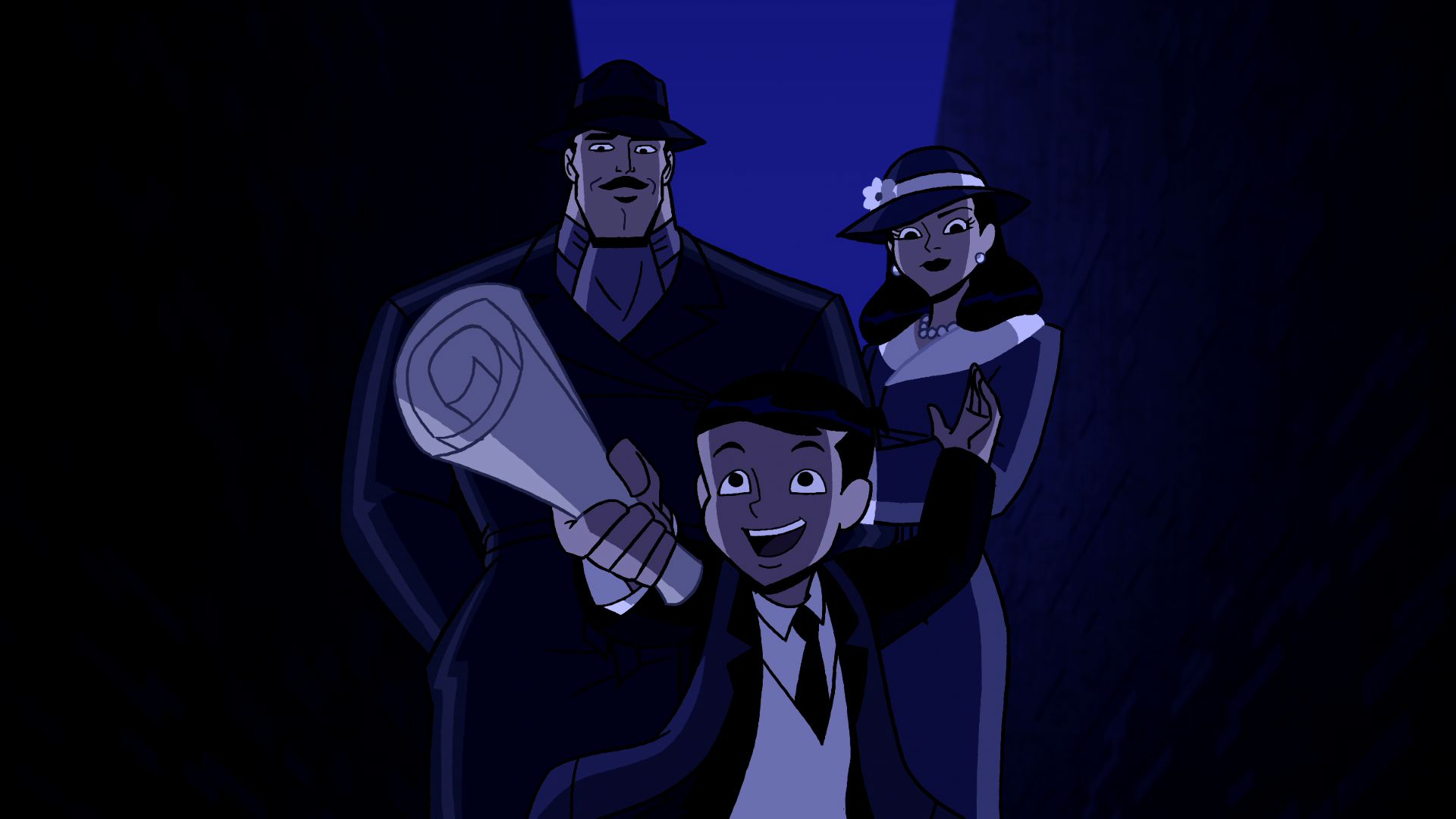 Кадр из мультфильма «Бэтмен: Отвага и смелость» (2008-2011)