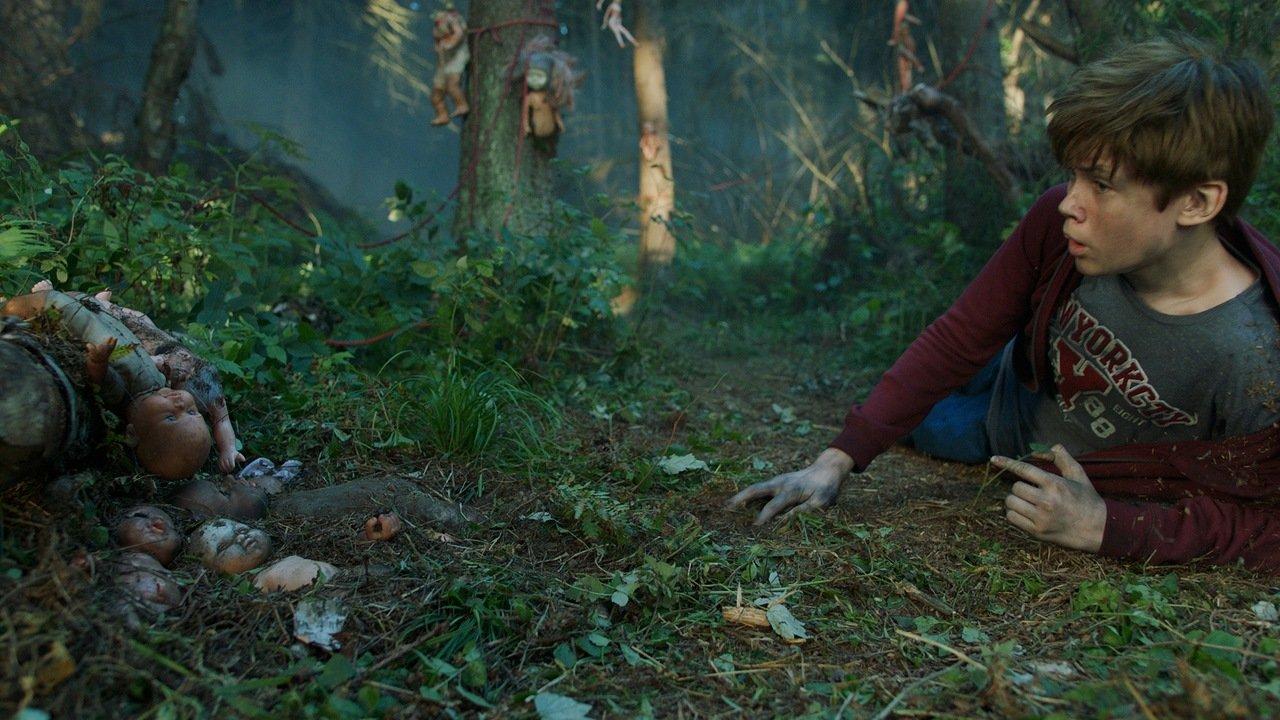 Кадр из фильма «Яга. Кошмар темного леса»