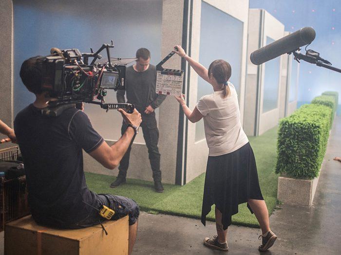 Фотография со съемок фильма «Мы»