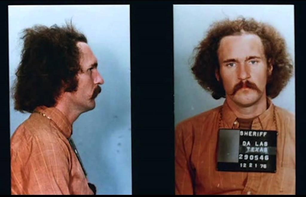Фотография из судебного архива (обвиняемый Рэндолл Адамс, 1976 год)