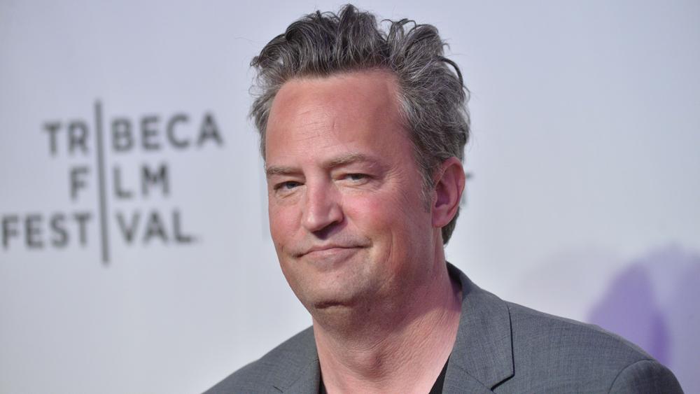 Мэтью Перри на кинофестивале «Трайбека» (фотография 2017 года)