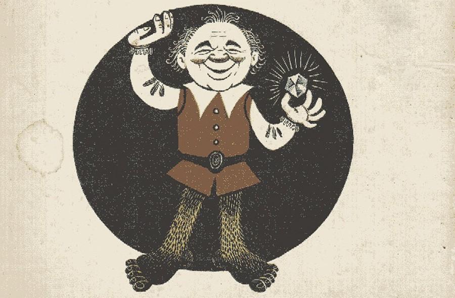 Иллюстрация из книги «Хоббит, или Туда и обратно»