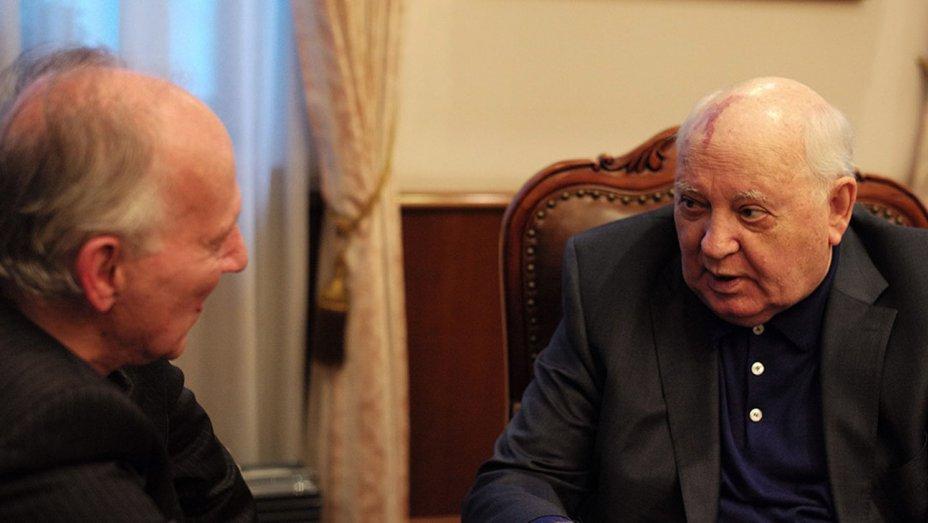 Михаил Горбачев представил фильм о своей жизни
