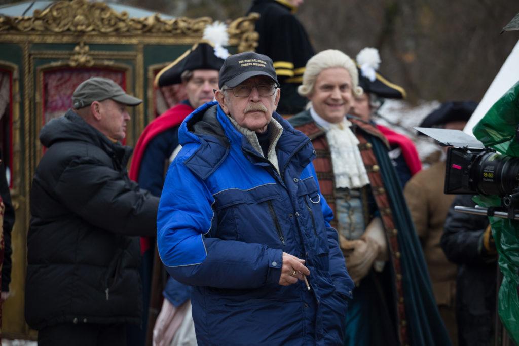 Василий Ливанов завершил съёмки «Медного всадника»