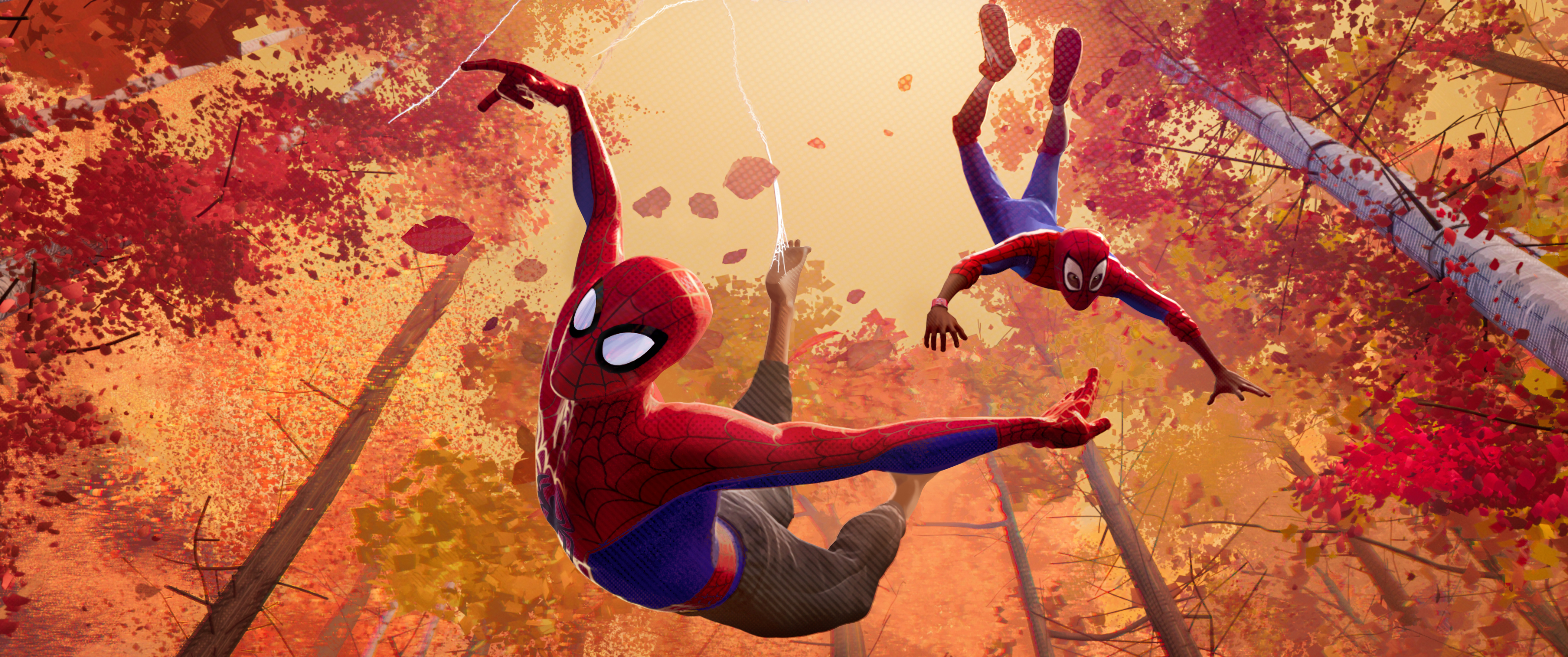 Кадр из фильма «Человек-паук: Через вселенные»