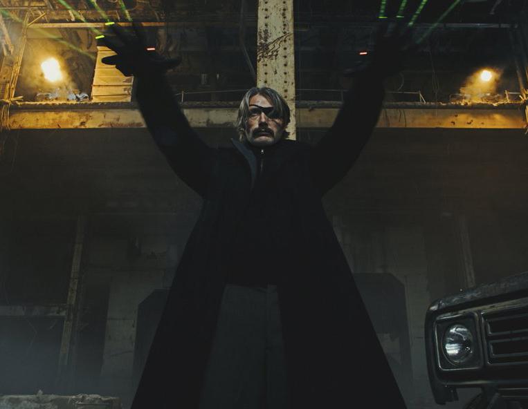Премьера трейлера «Полярный»
