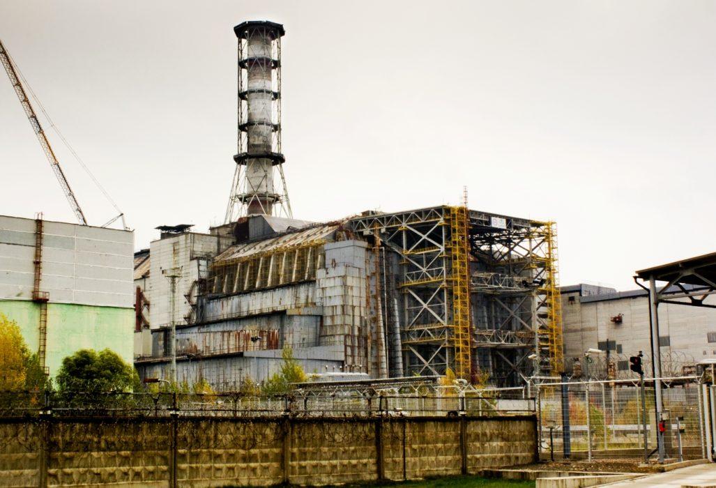 Чернобыльская АЭС (фотография середины 2000-х)