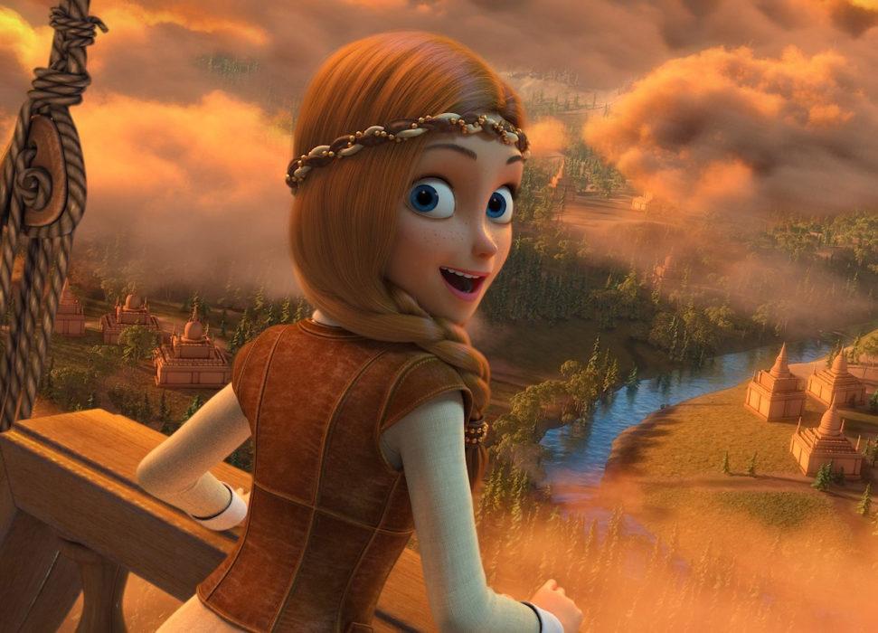 Кадр из фильма «Снежная Королева: Зазеркалье»