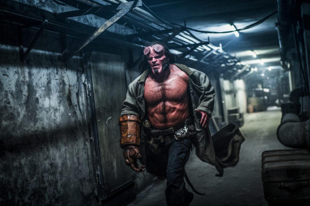 Опубликованы новые кадры из предстоящего боевика «Хеллбой»