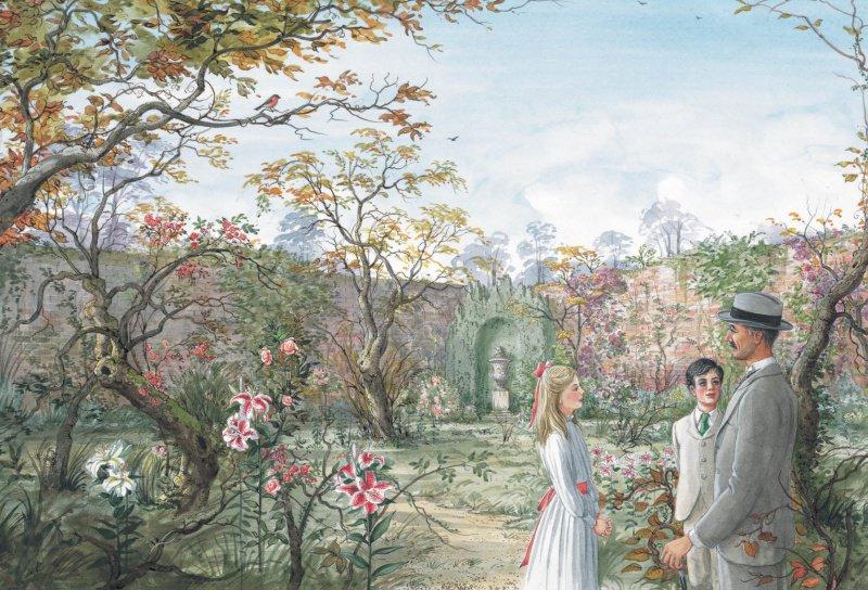 Иллюстрация из книги «Таинственный сад» (издательство «Стрекоза», 2018 год)