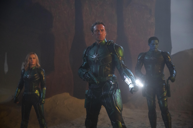 Кадр из фильма «Капитан Марвел»