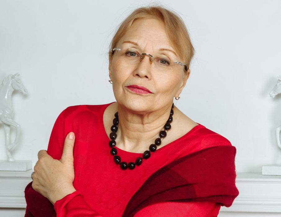 Елена Артемьевна Ливанова (фотография 2019 года)