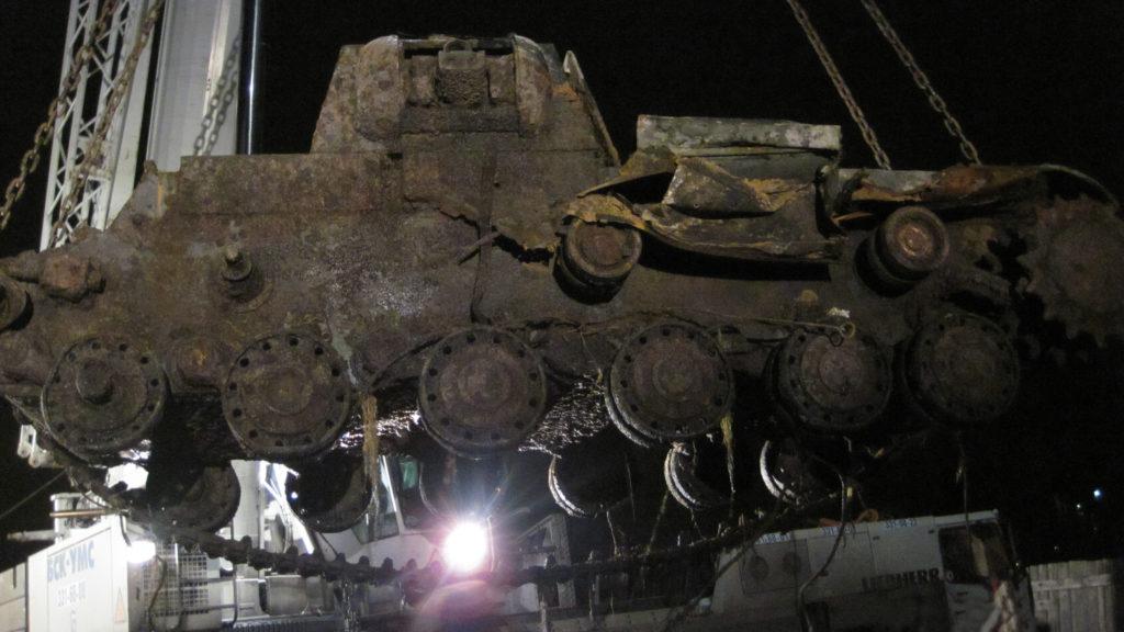 Возрождение легенды. Состоялась премьера фильма о подъеме танка КВ-1 со дна Невы