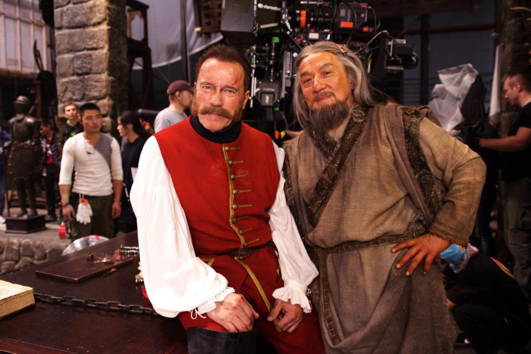 Фотография со съемок фильма «Тайна печати дракона» (к/к «Наше кино»)