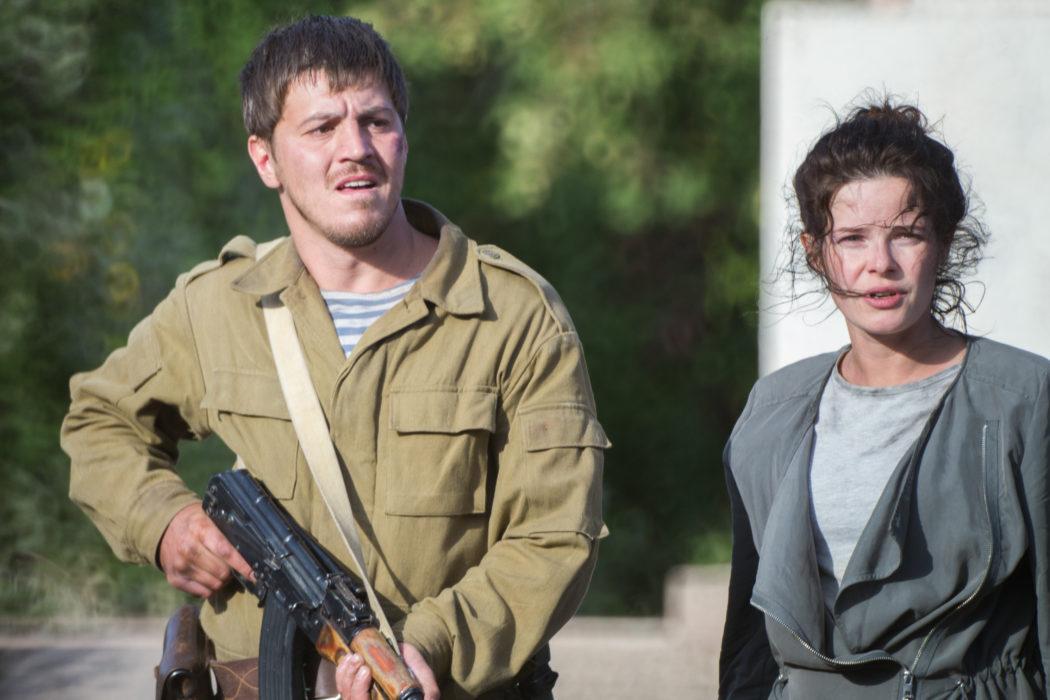 Кадр из фильма «Донбасс. Окраина»