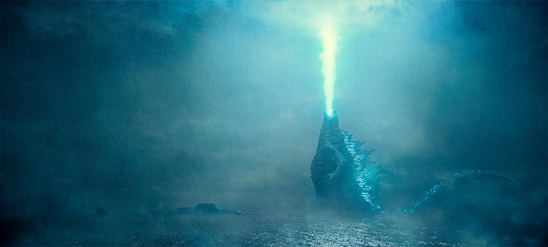 Кадр из фильма «Годзилла 2: Король монстров»