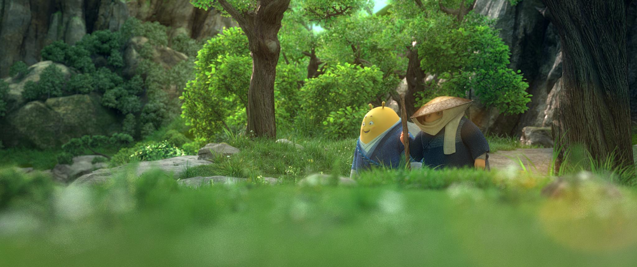 Кадр из фильма «Кунг-фу воин»