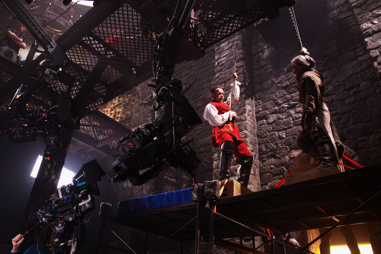 Фотография со съёмок фильма «Тайна печати дракона»