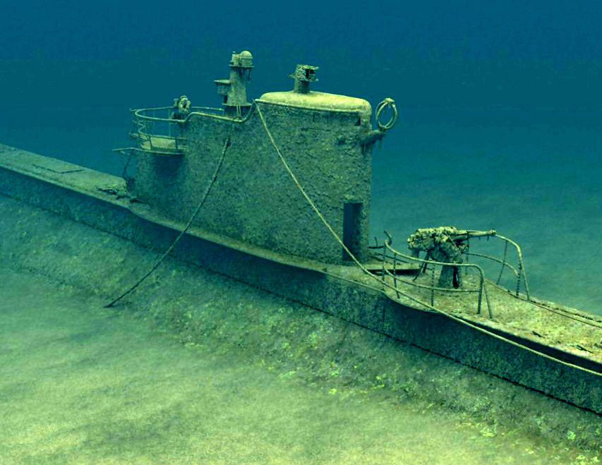 Дизельная подводная лодка Щ-408 (фотография 2016 года)